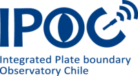 Logo IPOC Integrated Plate boundary Observatory Chile